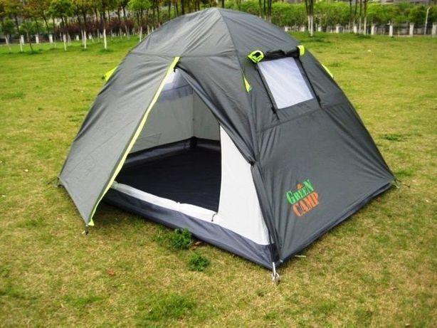 Палатка двомісна, двошарова Green Camp 1001 A