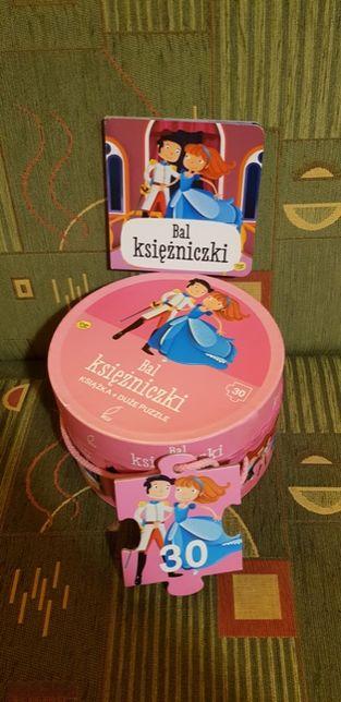 Wilga, puzzle Bal księżniczki, Zestaw