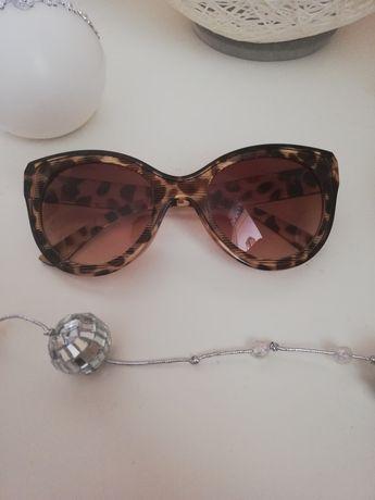 Okulary przeciwsłoneczne panterka