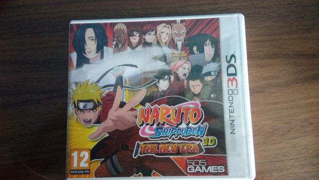 Jogo NarutoShippuden the new era 3D para nintendo 3DS