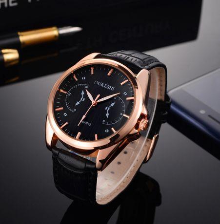 Мужские часы OUKESHI (Чёрные)