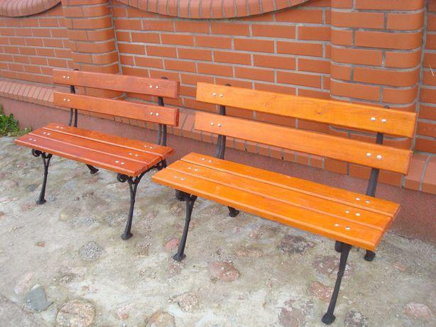 Meble ogrodowe ławka nogi żeliwne 70-140 cm dostawa 48h