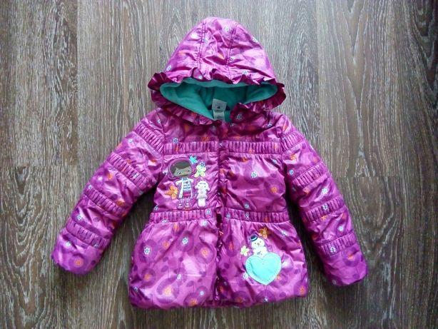 Фирменная куртка на девочку Доктор Плюшева Дисней