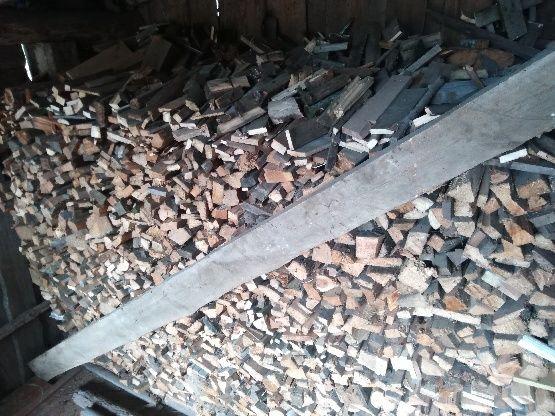 Drewno opałowe z rozbiórki porąbane DREWNO NA OPAŁ m³