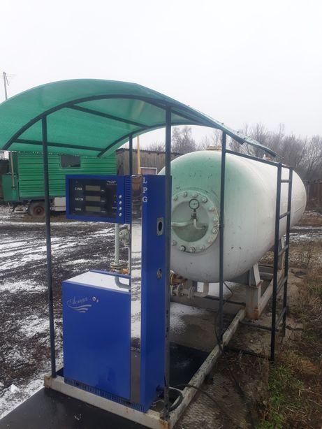 модуль LPG, газовая заправка
