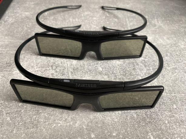Okulary Samsung 3D zasilanie bateryjne 2 szt