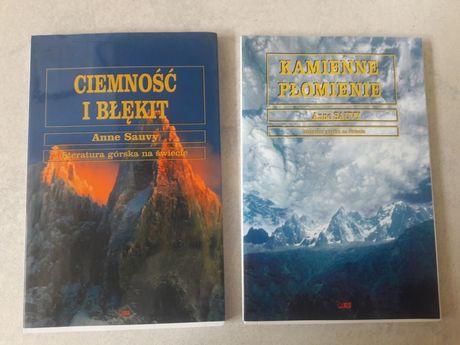 """""""Ciemność i błękit"""" ,''Kamienne Płomienie"""" Anne Sauvy,"""