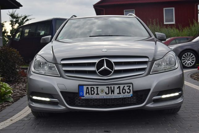 Mercedes C-Klasa 1.8b Automat Navi Led 184KM,Sprowadzony! Gwarancja V