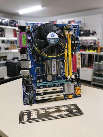 Комплект Intel E8500 + Gigabyte GA-G31M-S2L / Материнка / Майнинг