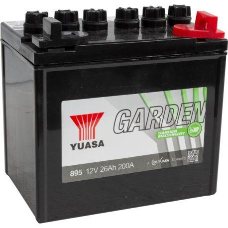 Akumulator do kosiarki 12V 26Ah 250A YUASA Prawy + Nowy gwarancja