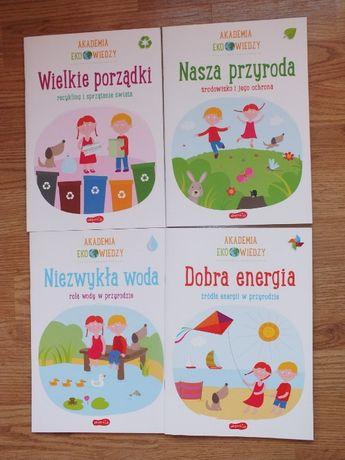 Akademia Eko wiedzy - 4 książeczki