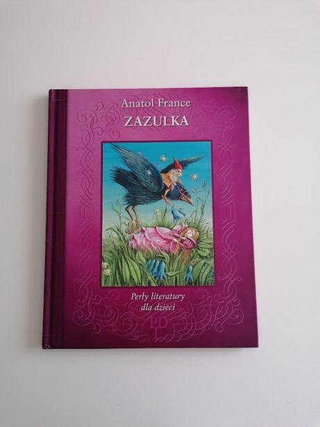 """książka """"Zazulka"""" - Anatol France"""