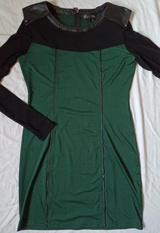 Vestido de cerimónia verde