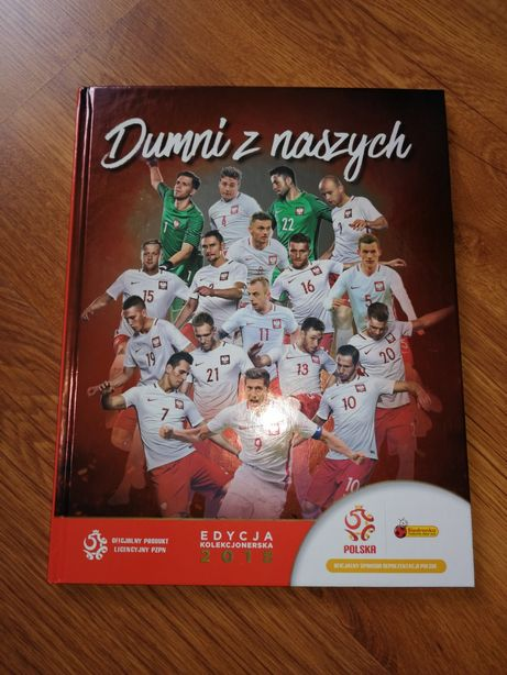 Kompletny album Dumni z naszych Biedronka