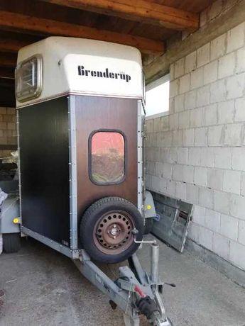 Przyczepa do przewozu zwierząt, koni Brenderup