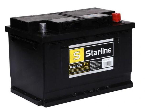 12V 74AH 680A akumulator kwasowy 3 lata gwaranci