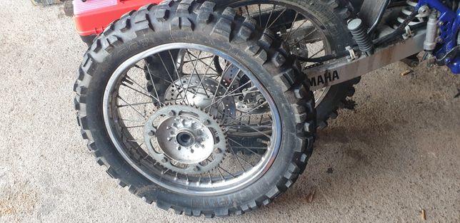 Koło tył, Yamaha DT125 R/RE