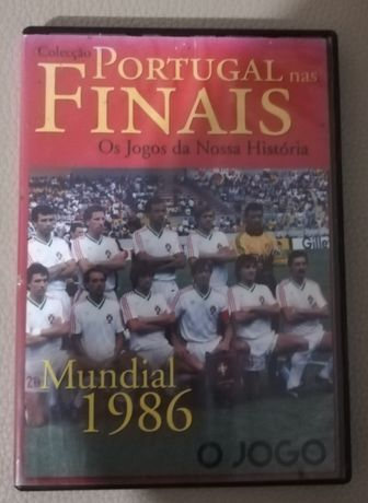 "Dvd "" Portugal nas finais"" Mundial 1986"