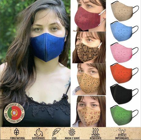 Máscara de Proteção  Reutilizável e Ecológica