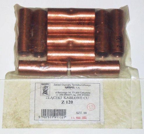 Złączka kablowa tulejka Cu Z 120 mm2 RADPOL 10 szt
