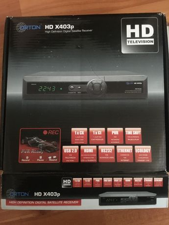 Спутниковый тюнер Orton HD X403p