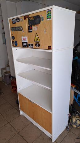 móvel IKEA - 174x84x43 - portas e prateleiras