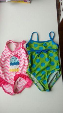 kostiumy kąpielowe cena za 2 sztuki rozmiar 98-104