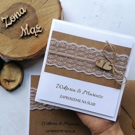 Zaproszenie ślubne zaproszenia na ślub