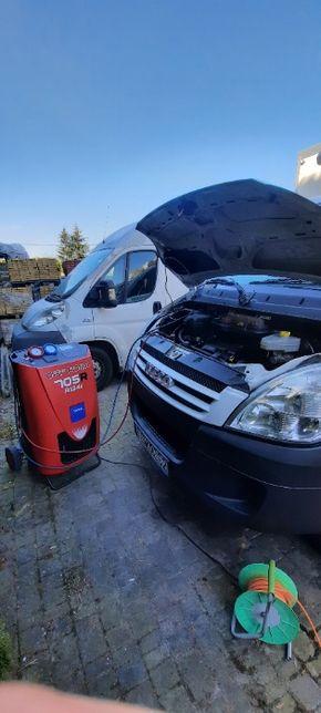 Klimatyzacja samochodowa serwis napełnianie odgrzybianie Mobilnie
