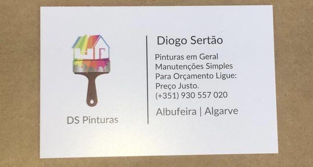 Pinturas com o melhor orçamento do Algarve !!!
