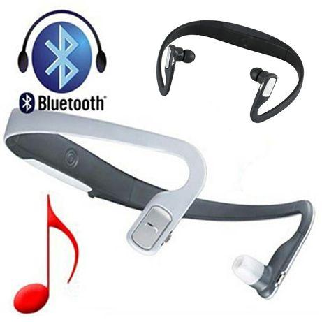 Słuchawki bluetooth Nokia BH- 505, białe+ GRATIS różne wkładki douszne