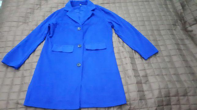 Niebieski płaszczyk rozmiar S
