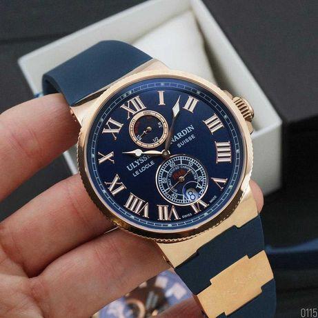 Мировой бренд, часы Ulysse Nardin Высокоточные, Мужские