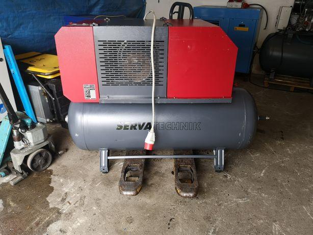 Kompresor srubowy 5,5 kw zbiornik 270l