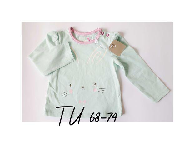 TU Bluzeczka niemowlęca 68-74