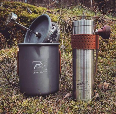 Набор посуды кофемолка прес кружка HELIKON-TEX/MORA/кофе/ножи керамика
