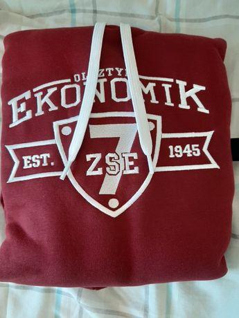 Bluza szkolna  zespół szkół ekonomicznych w Olsztynie