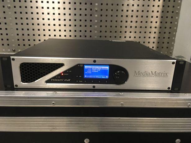 Procesor dźwięku Peavey nion NX, MediaMatrix, CobraNet