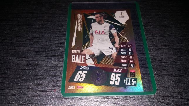 Champions Leuge Limited Edition Gareth Bale 2021