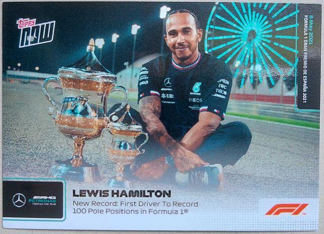 Topps Now F1 Formula 1 2021 Cartas #8 e #9