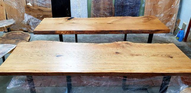 Стол из Слэба. 270 летнего канадского Дуба 2500мм.×900мм. Акция-19%