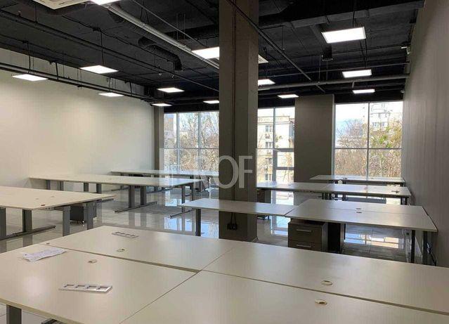 БЦ класса В офис 1080 м2 с мебелью готов к работе