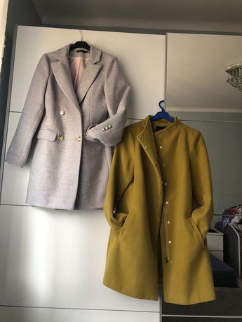 Dwa płaszcze w tym jeden nowy rozm 38/40