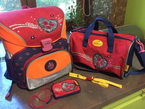 Рюкзак, спортивная сумка, кошелек Derdiedas