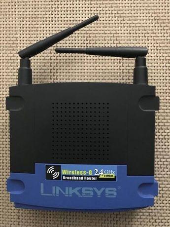 2x Router Linksys Wireless-G WRT54GL 2.4GHZ z Tomato Firmware oraz bez
