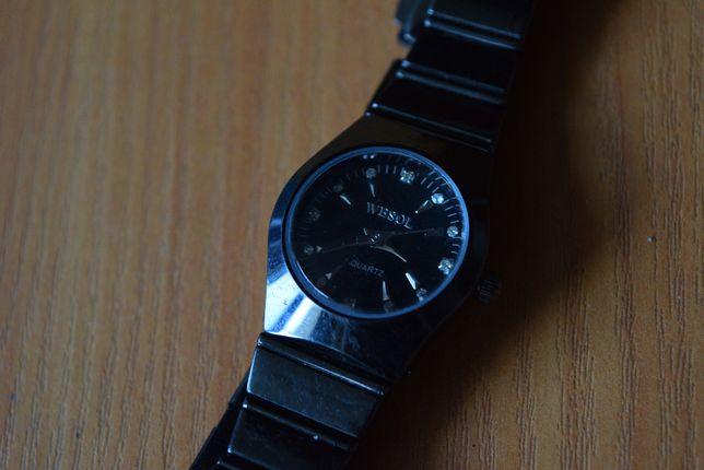 wesol часы наручные кварц женские черные