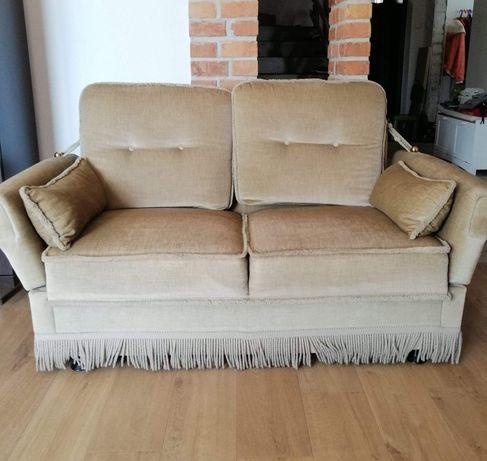 Dwuosobowa sofa + fotel