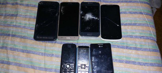 Vendos telemóveis para peças