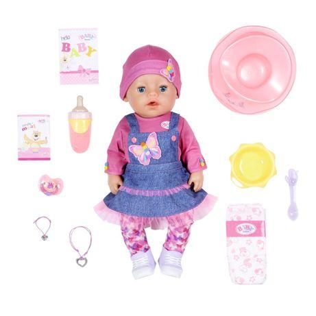 БЕСПЛ.ДОСТАВКА Кукла Baby Born Джинсовый лук 831298 Оригинал