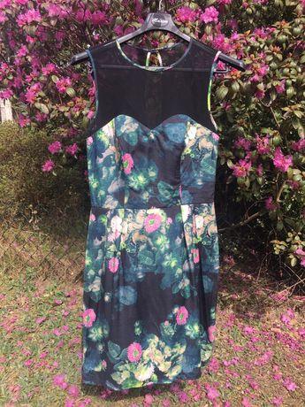 Sukienka w kwiaty marki Asos r. 36 S